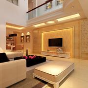 舒适欧式客厅装修效果图