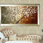 客厅沙发抽象画装饰