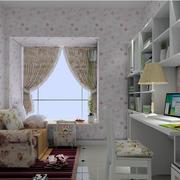书房窗帘装修效果图