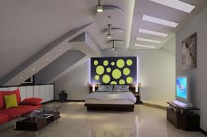 风格各异的低矮阁楼装修效果图鉴赏