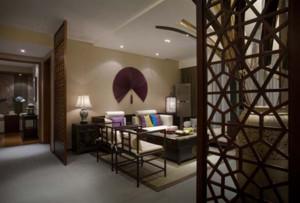 雅人清致的中式古典风格客厅装修效果图