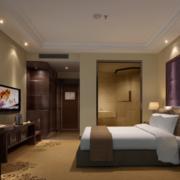 唯美的酒店卧室设计