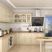 浅淡色调厨房设计