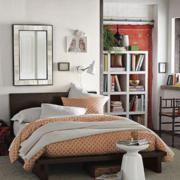 色调淡雅的卧室设计