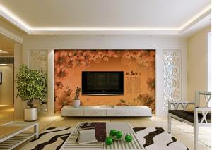 精美电视背景墙装修效果图