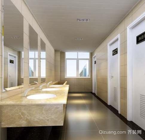 50平米公共厕所装修效果图
