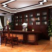 中式办公室吊顶设计