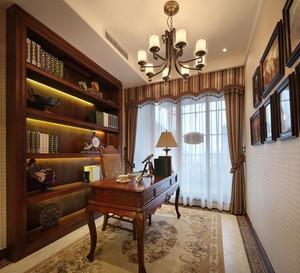 经典书房装修效果图
