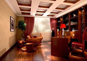 精致完美的书房装修