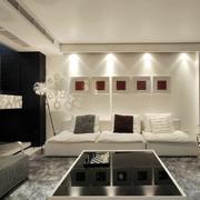 经典白色客厅设计