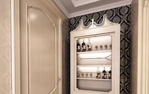 精致古典的美式风格酒柜装修效果图鉴赏