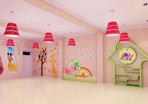 充满创意幼儿园手绘墙装修效果图