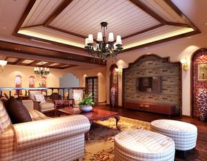东南亚风格客厅设计