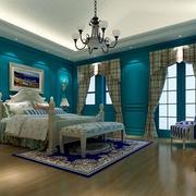 淡蓝色卧室设计