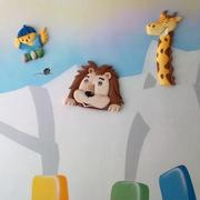 多彩的幼儿园壁纸