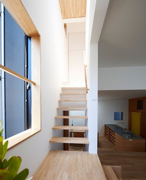 中小户型日式风格楼梯设计装修效果图鉴赏