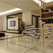 明净的欧式客厅地板砖设计