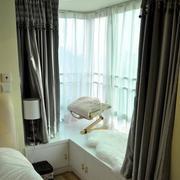 精致卧室飘窗设计