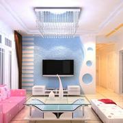 烂漫温暖的客厅设计