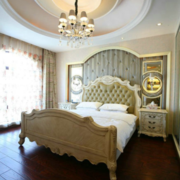 舒适卧室实木床