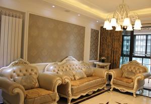精致唯美沙发背景墙