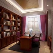 现代精致书房装修