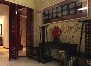 精致典雅的木制玄关设计装修效果图鉴赏
