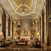 豪华别墅客厅设计