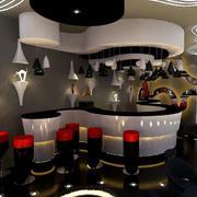 多彩酒吧吧台
