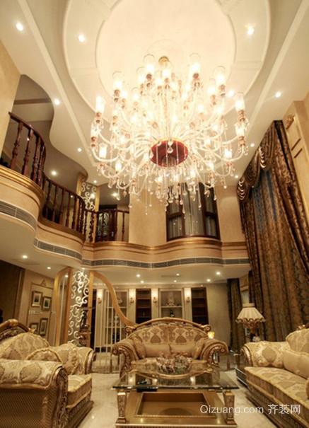西式大型别墅窗帘设计装修图片欣赏