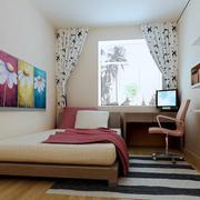 淡色儿童房设计