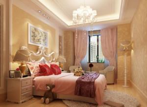 三室一厅简欧风格小卧室装修效果图