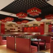 红火的火锅店设计