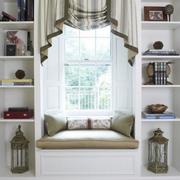 唯美纯色窗帘设计