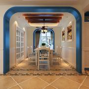 唯美素雅客厅玄关设计
