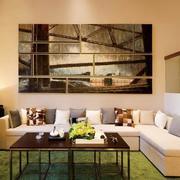 创意沙发背景墙