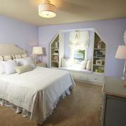 休闲卧室床铺设计