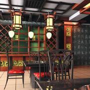 传统唯美的中式火锅店