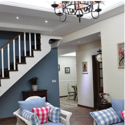 纯情白色的楼梯