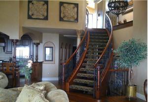 精致设计的楼梯