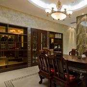 经典实木酒柜设计
