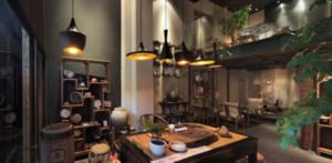 中式朴素禅意茶室装修效果图
