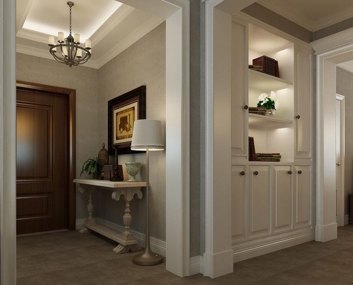 2015大户型 欧式 客厅 玄关 装修效果图 齐装网装