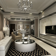 清新明亮的欧式客厅