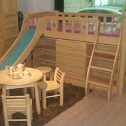 精致实木儿童床