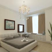 清新爽快的的卧室设计