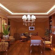 精美书房灯光设计