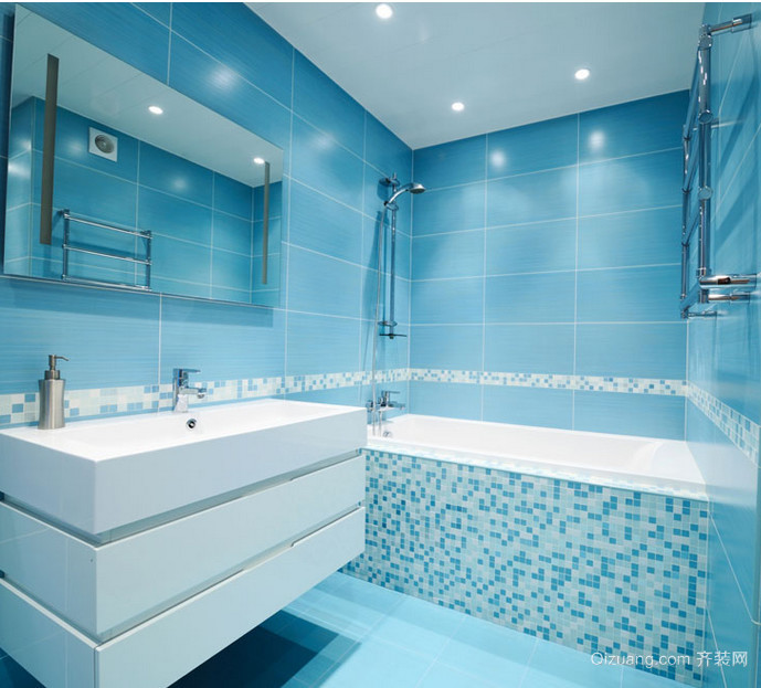 2015小户型令人舒适的浴室装修效果图