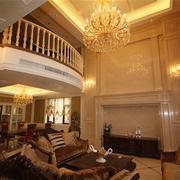 精致美式客厅