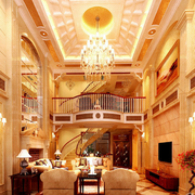 温暖都市豪华客厅装修